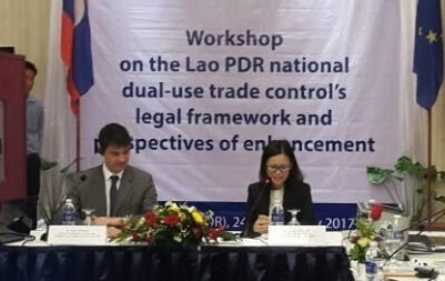 Workshop on the Lao PDR National Dual-Use Trade Control's Legal Framework and Perspective of Enhancement